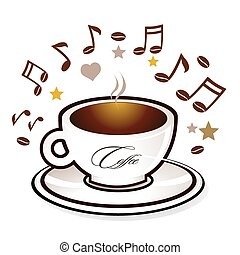 Coffee and sweet music