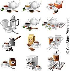 coffee and tea drinks
