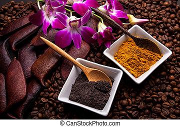 Coffee and Turmeric Scrub
