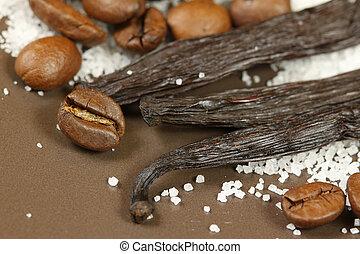 Coffee and vanilla