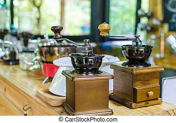 Coffee antique