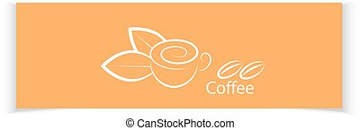 Coffee banners for your design.