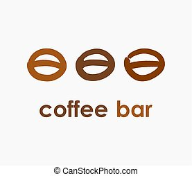 Coffee bar logo concept