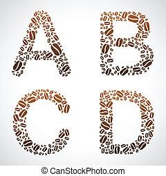 Coffee Bean ABCD