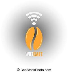 coffee bean design background