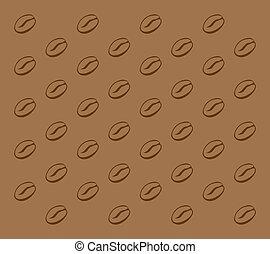 coffee bean pattern