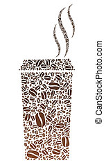 Coffee Bean Portable Cup