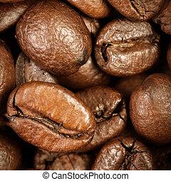 Coffee Beans Caffeine Roasted Brown Espresso wallpaper close...