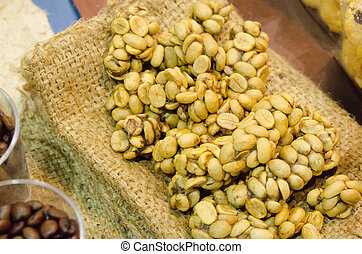 Coffee beans - Civet coffee - Kopi Luwak - Coffee beans -...