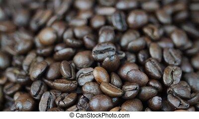Coffee beans - 1920x1080p HD video