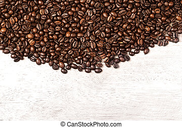 Coffee Beans/ Ground Coffee top view image / Natural coffee ...