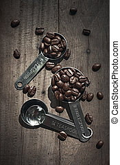 Coffee Beans with scoop