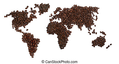 Coffee world background cool coffee world vertical stock coffee beans world gumiabroncs Choice Image