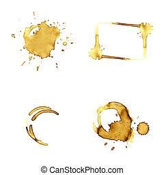 Coffee blots