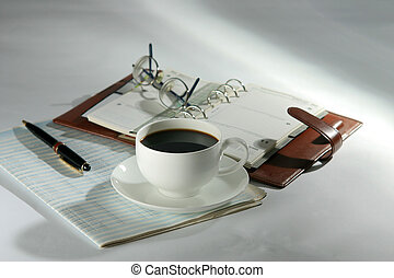 coffee break 01 - coffee break during office work