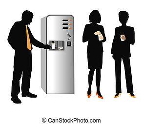 coffee break - Coffee break on the office.