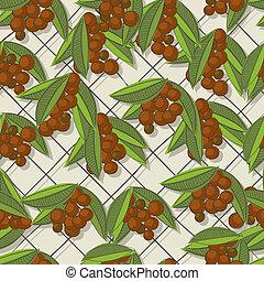 Coffee brunch pattern