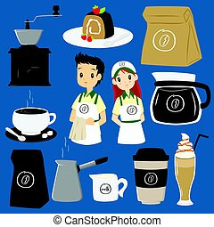 Coffee Cafe Vector Collection