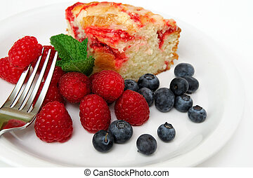 Coffee Cake And Berries