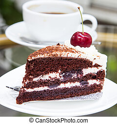 Coffee Cake - coffee and cheese cakes that look appetizing.