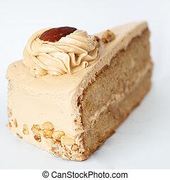 coffee cake - Coffee cake on a white background