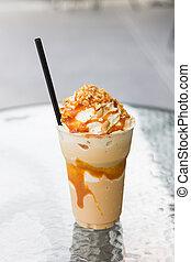 coffee  caramel frappe - coffee caramel frappe