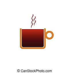 coffee color vector illustration