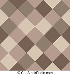 Coffee Colors Seamless Texture. Abstract Vector Background.