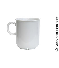 Coffee Cup - A coffee cup isolated on white