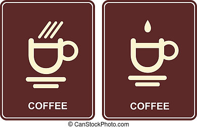 Coffee cup - cafe icon