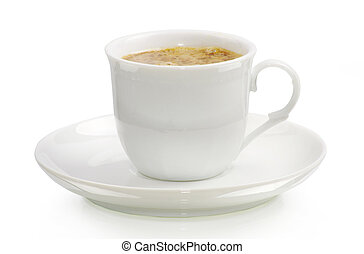 coffee cup - Coffee cup on white background