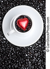 Coffee Cup Heart