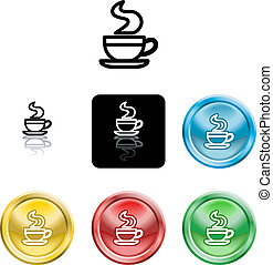 coffee cup icon symbol