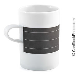 coffee cup isolated on a white background