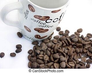 coffee cup n beans#2