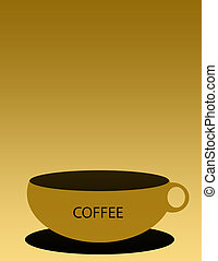 Coffee Cup - Coffee cup slight softness in cup lines and...