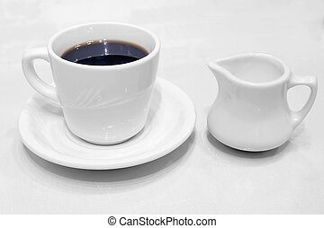 Coffee Cup Saucer and Creamer - Coffee Cup Saucer Creamer...