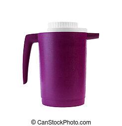 Coffee Cup Side pink Lid