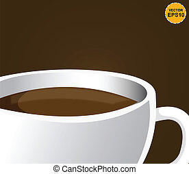 Coffee cup. Vector. EPS10
