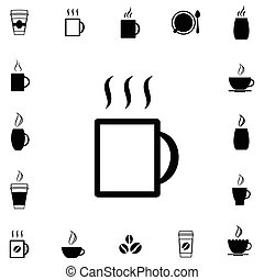 Coffee Cup Vector Icon Collection