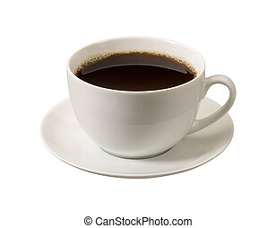 Coffee Cup with a clipping path