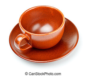coffee cup with saucer