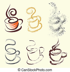 coffee cup with variations