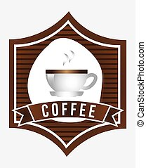 coffee design  - coffee graphic design , vector illustration
