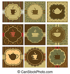 Coffee design - A vector illustration of different coffee...