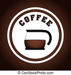 Coffee design. - Coffee digital design, vector illustration...