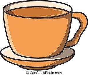 Coffee doodle illustration design