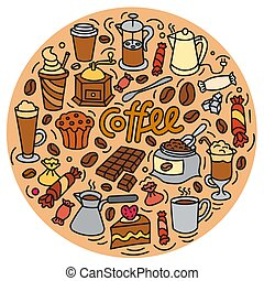 coffee drink sign