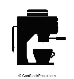 coffee espresso maker illustration