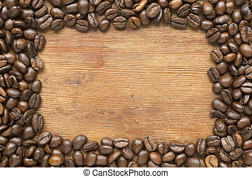 coffee frame wood